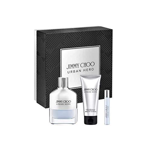 Jimmy Choo Urban Hero Eau De Parfum 100Ml, Edp 7.5Ml & After-Shave Balm 100Ml