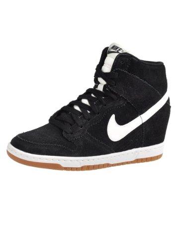 Nike W Dunk Ski Hi Int, Damen Clogs & Pantoletten , schwarz - schwarz - Größe: 44 EU