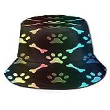Sombrero para pescador con forma de pata de perro con protección UV, ligero, transpirable, gorra de ala ancha, para mujeres, hombres, pesca, playa, senderismo, viajes