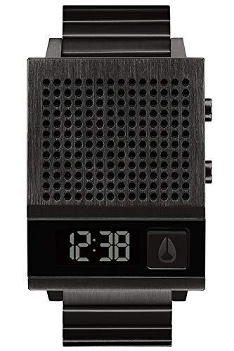 Nixon The dork Too Herren Uhr digital Quarzwerk mit Edelstahl Armband A1266001