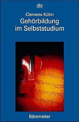 Gehörbildung im Selbststudium. Buch