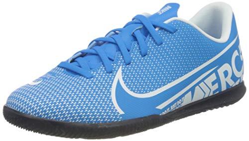 Nike Unisex-Kinder Vapor 13 Club IC Fußballschuhe, Mehrfarbig (Blue Hero/White/Obsidian 414), 38.5 EU