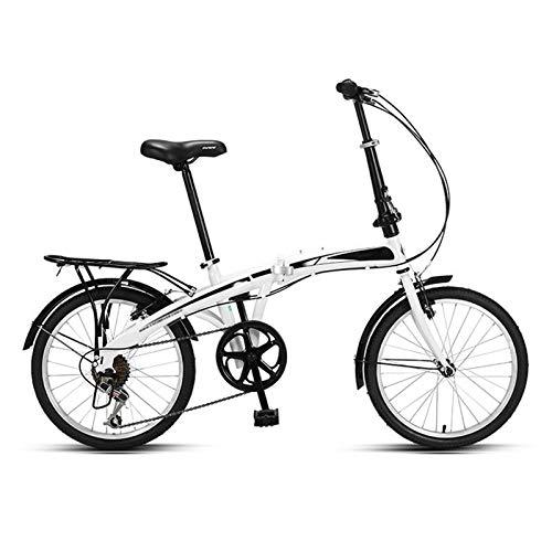 Bicicleta Plegable,7 Velocidades Profesionales Engranajes De La Velocidad De Las Mujeres Adulto Adulto Adulto Ultra Ligero Variable Variable Velocidad Portátil Pequeño Estudiante Pequeño Estudiante Ma