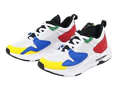 Air JORDAN Chaussures de basket-ball pour homme - Multicolore - White Game Royal Black Gym Rouge, 42.5 EU