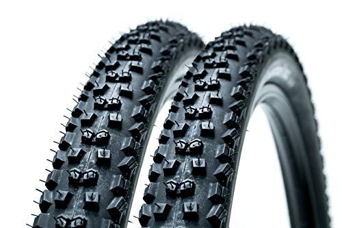 "2 Stück 29\"" x2.2 Zoll Continental Mountain King Performance 55-622 Falt Reifen Fahrrad Mantel Decke schwarz"