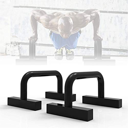 ZGHTD 2 unids Push up Handles, Formación de Fitness Training Parralette Barras, Paralletes de Calistenia de Acero Press Up Assondas, para el Gimnasio para el hogar