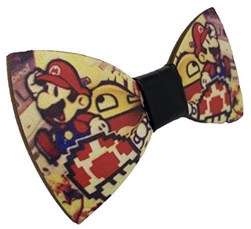 VIKINGS Pajarita Woody Comic, Fliege Comic:Mario
