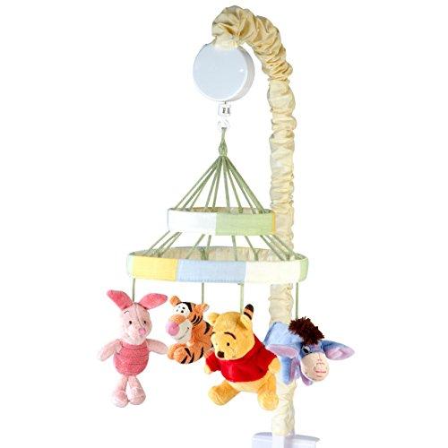 Disney Winnie The Peeking Pooh Nursery Crib Musical Mobile,...