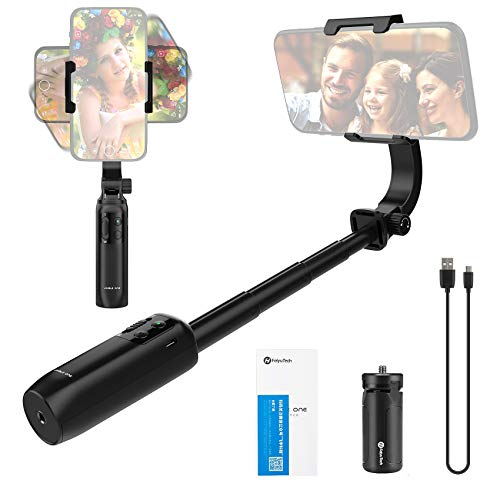 FeiyuTech Vimble One, Smartphone Gimbal Stabilizer for iPhone 11Pro Max/X/XR/8/7 for Android Phones Extendable Foldable Pocket Gimbal Selfie Stick FeiyuOn APP Control(FeiyuTech Vimble One)