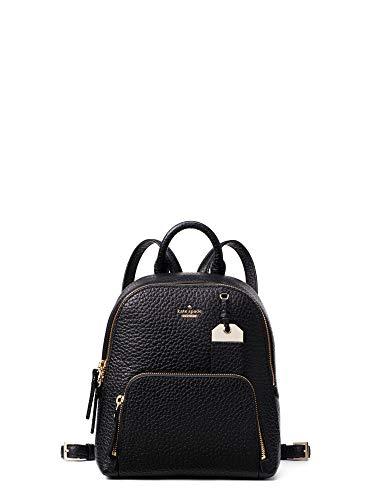 Kate Spade New York Caden Carter Leather Backpack (BLACK)