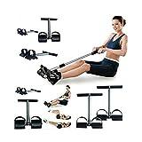 Ducomi Extenseur de poitrine réglable à ressorts en acier pour résistance, exercice de la poitrine et du renforcement musculaire –...