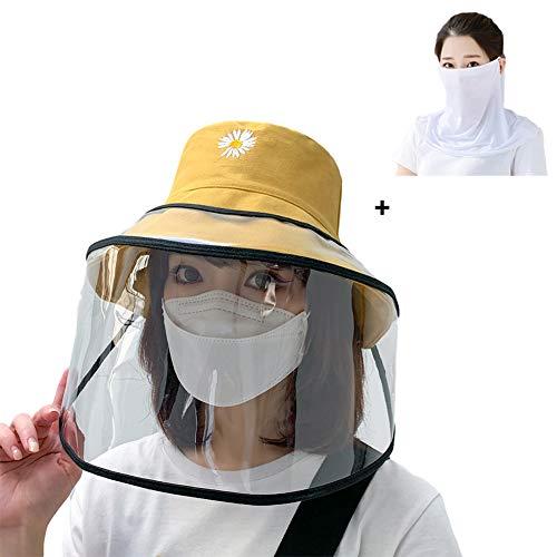 Women's Summer Big Brim Sunscreen Hat Fisherman Hat beschermende muts om te voorkomen Speeksel Splashing UV-bescherming