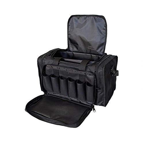 CHRISTY HARRELL Rucksack, leichte Sporttasche, Reisetasche, Sporttasche, Sporttasche, Turnbeutel für Training mit Schultergurt, Duffle Bag Schwarz