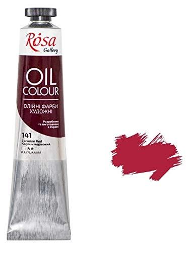 Ölfarbe, 45 ml, Galerie, professionelle Künstlerfarben (karminrot)