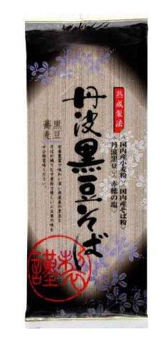 カネス 丹波黒豆そば 200g×20個