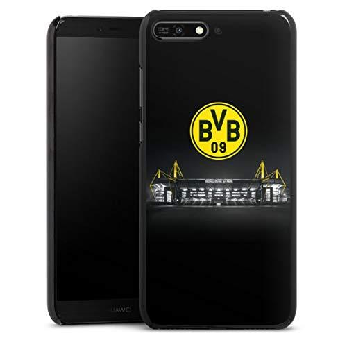 DeinDesign Hard Hülle kompatibel mit Huawei Y6 2018 Schutzhülle schwarz Smartphone Backcover BVB Stadion Borussia Dortm&