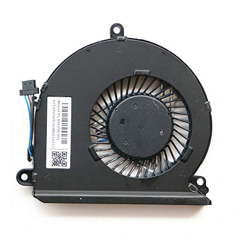 KBR Replacement CPU Cooling Fan Compatible with HP Pavilion 15-au 15-au000 15-au100 15-au500 15-au600 15-au016cl 15-au023 15-au097cl 15-au010wm 15-au020wm 15-au030wm Series Laptop P/N: 856359-001