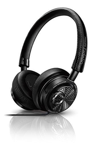 PHILIPS ヘッドホン Fidelioシリーズ 密閉型/オンイヤー/Lightning接続/ハイレゾ音源対応 ブラック M2L【国内正規品】