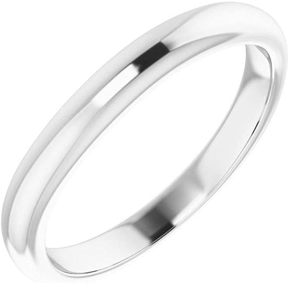 Solid At the price of surprise Platinum Curved Notched Wedding Band Popular product Ring x 5 for 3mm