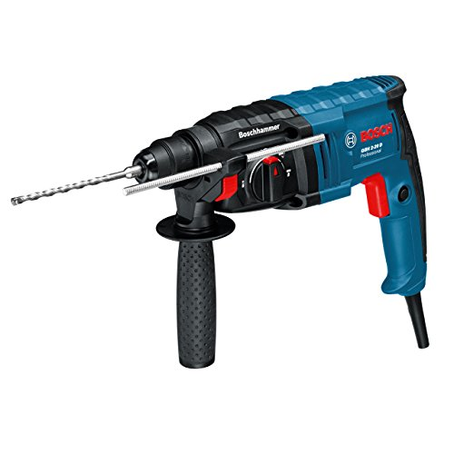 Bosch 061125A460 GBH2 -20D SDS Rotary Hammer Drill, 3 Mode, 110V, 650W, Navy Blue