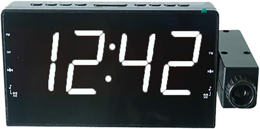 ZHOUJ Purchase Clock Smart Oakland Mall Projection Intimate Two Clocks Alarm