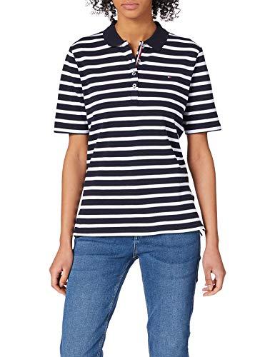 Tommy Hilfiger TH ESS Regular Striped Polo SS Camiseta sin Mangas para bebés y niños pequeños, Azul, XXS...
