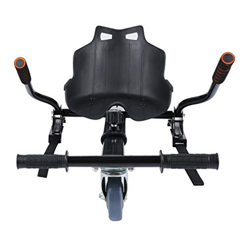 Hoverkart mit Sitz Premium Elektroroller Hover Kart Elektro Self Balance Scooter Go Kart Sitzscooter als Kart-Erweiterung für Hoverboards von mit 6,5/8/10 Zoll ,für Erwachsene und Kinder