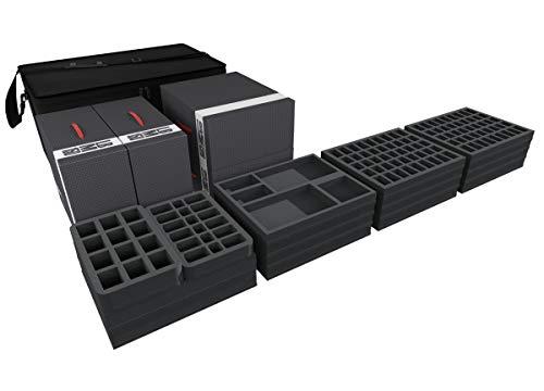 Feldherr Transporter kompatibel mit über 500 Zombicide Figuren und Zubehör