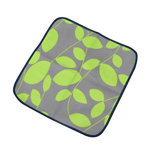 LIOOBO Outdoor Camping Mat Sitzkissen Tragbare wasserdichte Stuhl Picknick Matte Pad für Kinder Erwachsene (Grün)