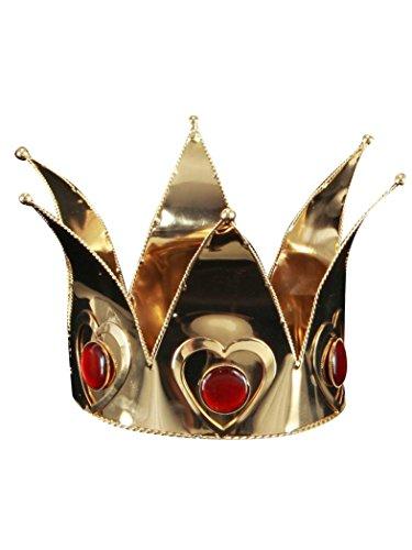 Mini Königin der Herzen Krone - Einheitsgröße