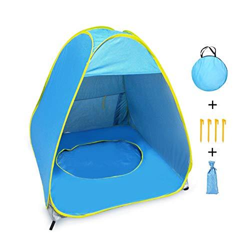 LKIHAH Outdoor Automatische Pop Up Baby Strand Tent - Outdoor Automatische Open Up Gemakkelijk Strand Tent Camping Zonnebrandcrème Strand Tent