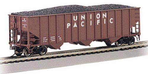 Bachmann Trains - Bethlehem Steel 100-Ton Three Bay Hopper - UNION PACIFIC #36255 - HO Scale