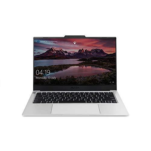 AVITA LIBER V14 NS14A8INF562-CS 14-inch Laptop (Core i5-10210U/8GB/512GB SSD/FHD/Windows 10 Home/Intel UHD Graphics 620/MS Office 365/ 1.25KG), Cloud Silver