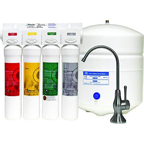 Watts Premier P531417 531417 RO Pure Plus, Top-Mount Twist Faucet, Box dimensions-15 x14 x15