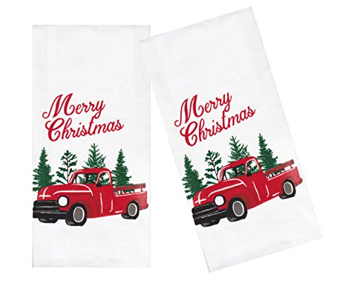 Top 10 Best Selling List for white christmas truck kitchen towels
