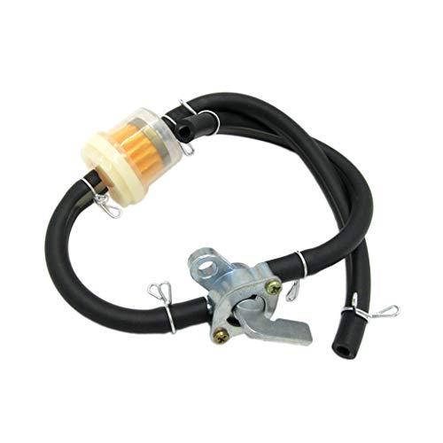 Motorrad ATV Benzin Tankdeckel Ventilhahn Benzinhahn Schalter für 4 Wheeler Quad 125ccm 150ccm ATV Dirt Bike