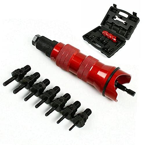 Inserto rivetto per trapano avvitatore a batteria M3, M4, M5, M6, 8-32,10-24, 10-32,1/4-20