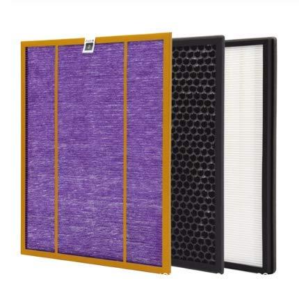 YanBan 3 piezas AC4141 AC4143 AC4144 Kit de filtro para Philips AC4072 AC4074 AC4083 AC4084 AC4085 AC4086 AC4014 ACP073 purificador de aire piezas