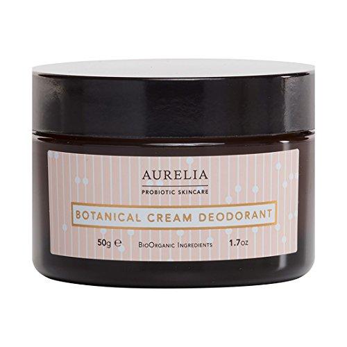 Aurelia Probiotic Skincare Botanical Cream Deodorant 50 g, Mehrfarbig, Teebaum