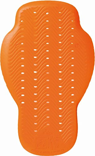 TUCANO URBANO 8006 D3O 1 Back Armour for Pocket, Orange, Einzig Groesse