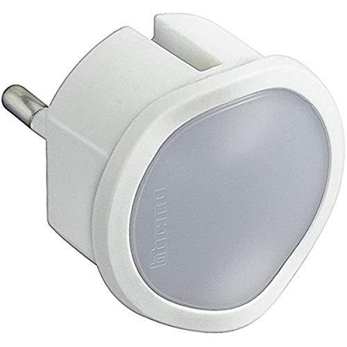 BTicino Torcia d'emergenza estraibile e Luce Notturna S3625DL, 220 volt, bianca