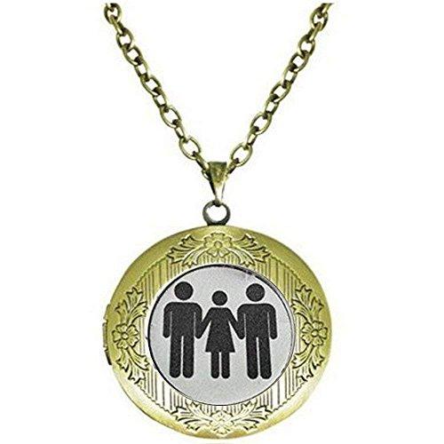 Swinger Jewelry MFM - Collar de estilo de vida trenzado con esposa caliente