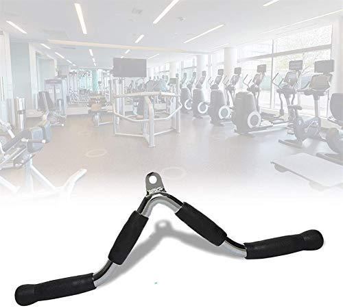 WXking Accesorios de accesorios de accesorios de máquina de cable, barra extraíble de agarre de acero, mango de entrenamiento de fuerza de brazo multifunción, máquina de cruce del cable de alimentació