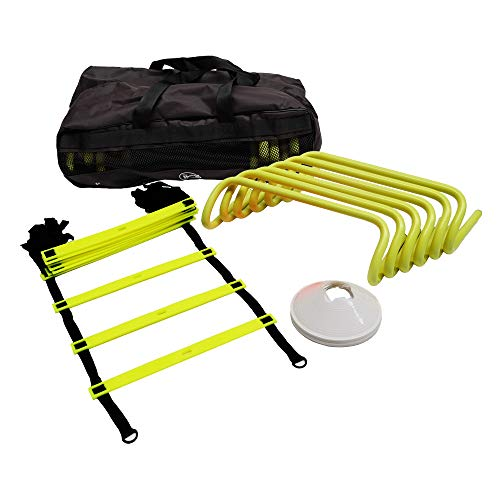 The Soccer Store Football Training Equipment Pack - Complete Speed and Agility Training Kit