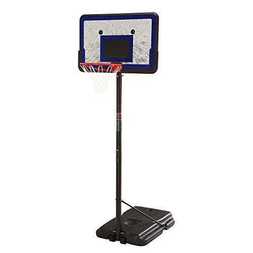 Product Image of the Lifetime Height Adjustable Portable Basketball System, 44 Inch Backboard