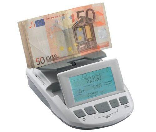 ratiotec RS1000 Geldwaage, Banknoten, Münzen, (56600) [Elektronik]