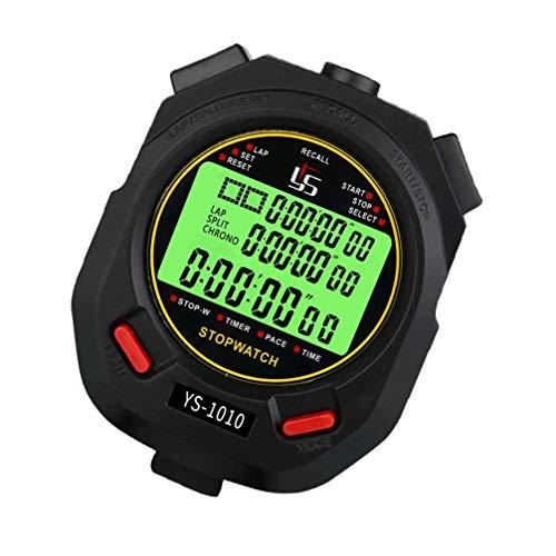 BESPORTBLE Cronómetro Digital Temporizador Cronógrafo Cuenta Regresiva Cronómetro Luminoso Alarma Regalos para Profesores Referis Deportes Cocina