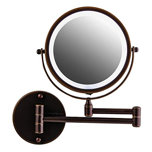 Ovente Wall Mounted Double sided 180 extendable arm Vanity Makeup Mirror 7 -