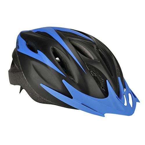 FISCHER Erwachsene Fahrradhelm, Radhelm, Cityhelm, Schwarz blau, S/M