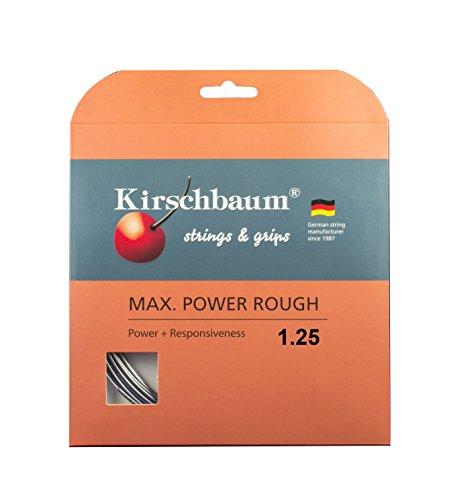 Kirschbaum Saitenset Max Power Rough, Anthrazit, 12 m, 0105260217600016